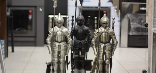 Рыцарь (серебро, латунь, чёрный)