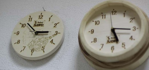 Часы SAWO 532-А осина