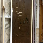 Фьюзинг (Парилка на бронзе),стеклянная дверь фьюзинг,