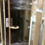 SAWO бронза коробка кедр канадский,стеклянная дверь для бани,
